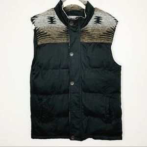 BKE by Buckle Puffer Vest with Native Print